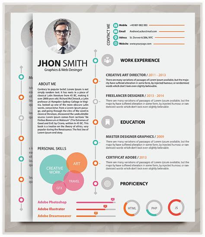 21157 resume portfolio template 20 best resume template in 2015 graphicstoll