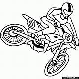 Dirt Bike Coloring Pages Printable sketch template