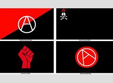 Anarchist Flag in Different Forms by MyLittleTripod on
