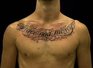 All Tattoos Here: Tattoos For Men On Chest Quotes