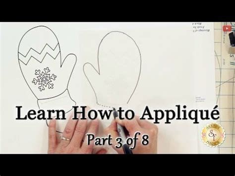 shabby fabrics applique tutorial learn how to appliqu 233 with shabby fabrics part 3 how to make appliqu 233 templates youtube