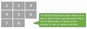 Excel Vba Charts Collection How To Layout Panel Charts Or Shape Grids In Excel With A