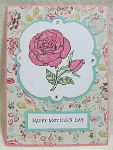 Savvy Handmade Cards: Handmade Mother's Day Card