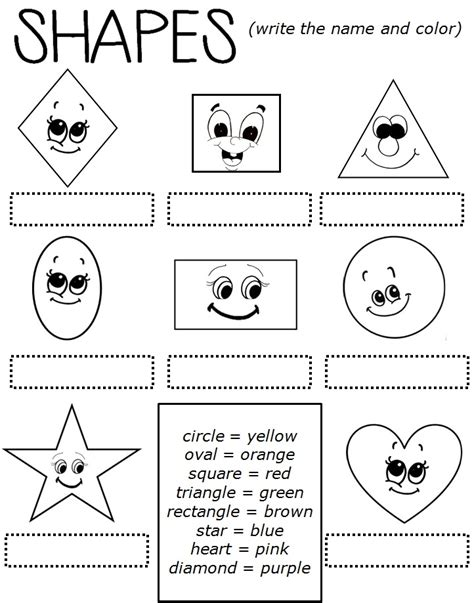 shapes worksheets for grade worksheets for all