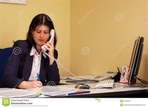 femme de bureau femmes de bureau photos libres de droits image 2766058