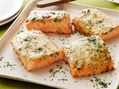 mustard maple roasted salmon recipe food network kitchen