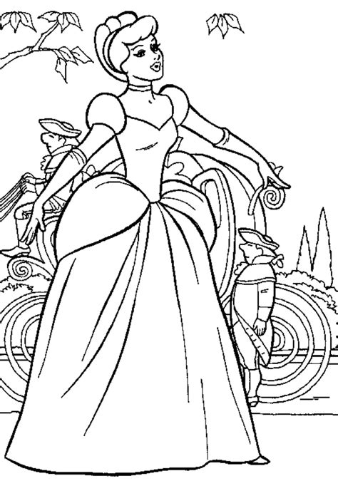 Print & Download Princess Coloring Pages Support The