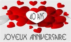 24 ans de mariage carte anniversaire 40 ans virtuelle gratuite à imprimer