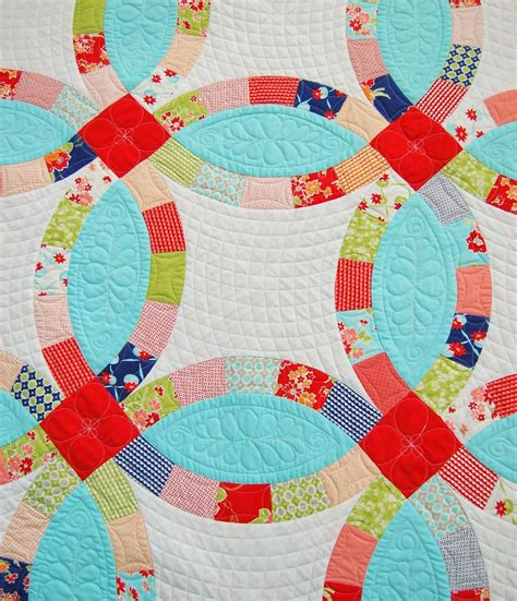 kate s big day wedding ring quilt pattern by