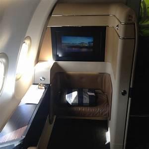 Etihad Airways A340 First Class Abu Dhabi To Los Angeles ...