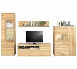 Wohnwand Holz Massiv : wohnwand kernbuche massiv buchefarben online kaufen xxxlshop ~ Yasmunasinghe.com Haus und Dekorationen