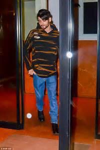 Zayn Malik debuts floppy boyband hair and immaculate beard ...