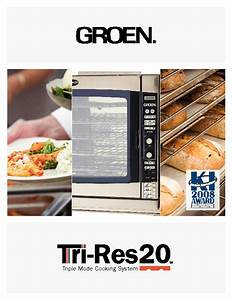 Groen Tri-res20 Manuals