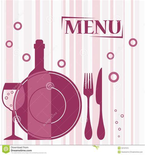 purple background  cafe menu design stock