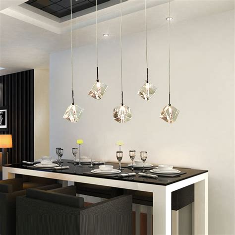 Led Lights In Dining Room by Aliexpress Buy T Transparent Led Dining Room