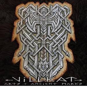Dessin Symbole Viking : pingl par patrick lain sur sirmorgan viking tattoos celtic tattoos et norse tattoo ~ Nature-et-papiers.com Idées de Décoration