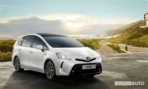 Toyota Nuova Prius Plus 2018 Ibrida Sette Posti Euro6c
