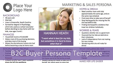 marketing persona a step by step guide for creating a b2c buyer persona
