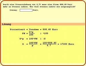 Grundwert Berechnen Formel : beispielaufgaben ~ Themetempest.com Abrechnung
