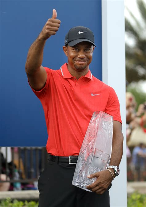 Tiger Woods wins Players Championship as Garcia's hopes ...