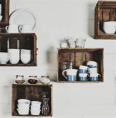 diy deco cuisine decoration etagere bois