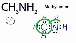 Ch3nh2 Lewis Structure  How To Draw The Lewis Structure