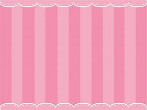 Cute Pink Curtain Powerpoint Templates - Objects - Free ...