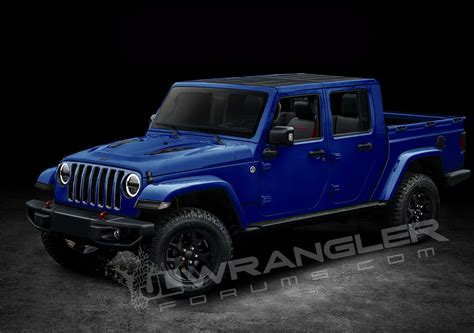 2019 jeep wrangler 2019 jeep wrangler pickup truck to be named scrambler 3