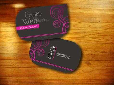 cool graphic design business cards april baird s cool graphic designer business card