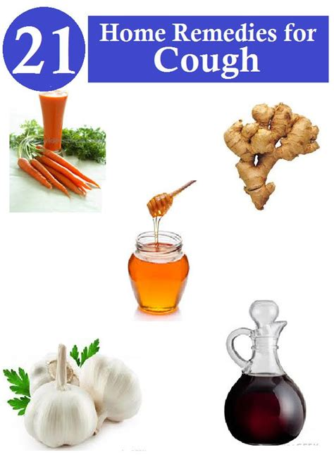 Home Cough Remedies
