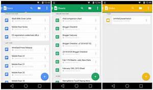 google shuts down quickoffice updates drive docs sheets With google docs sheets and slides app