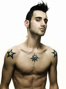 star shoulder tattoos for men | fitness guide | Pinterest ...