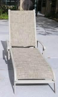 pool furniture replacement slings in california