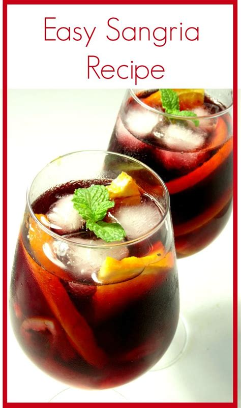 wine sangria recipe 1000 ideas about easy sangria recipe on pinterest sangria recipe easy sangria wine and white