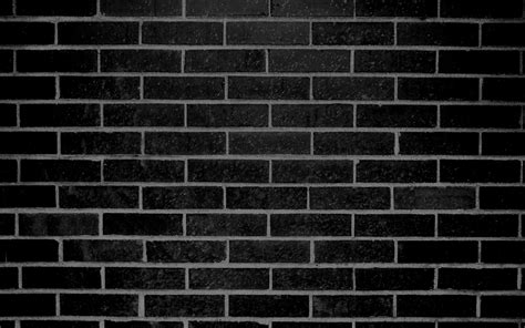 Black Image by Cropped Black Brick Wall Texture Jpg