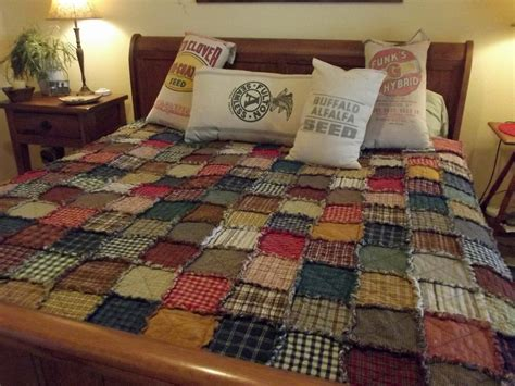 size of a king size quilt king size scrappy rag quilt