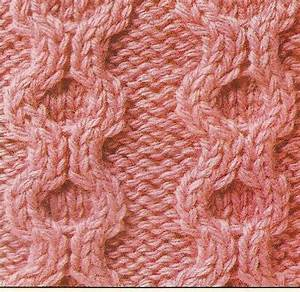 Ring cable stitch a traditional cable knitting stitch