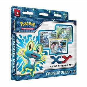 Froakie Kalos Starter Theme Deck Trading Card Game