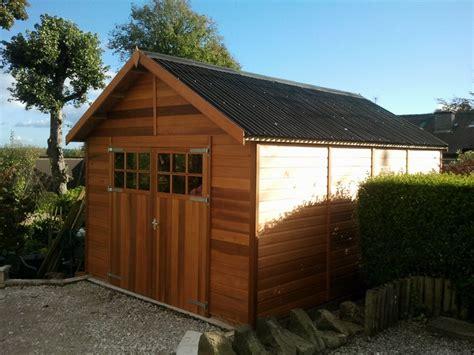 wooden garages uk timber garages  sale tunstall