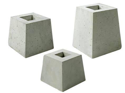 faire plot beton pour terrasse bois 12 d233s b233ton supports poteaux ggi fabrication de