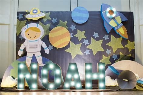 Noah's Outer Space Themed Party  1st Birthday  Party Doll Manila