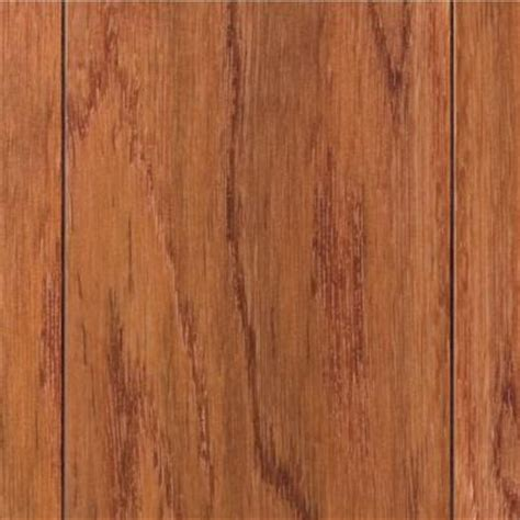Snap Lock Flooring Home Depot by Home Legend Scraped Oak Gunstock 3 8 In T X 4 3 4 In