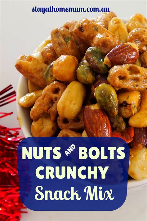 nuts  bolts crunchy snack mix