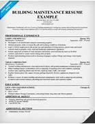 Resume Estimator Resume Templates Automotive Service Advisor Resume Building Maintenance Technician Resume Sample Resume Examples Maintenance Workers Sample Resume A Maintenance Resume Sample Resume Sle Resume For Maintenance Electronic Technician