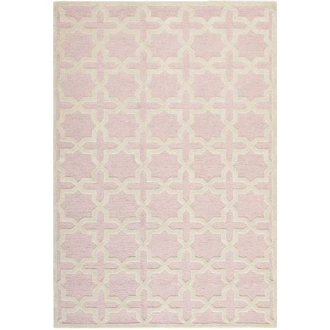 light pink rug safavieh cambridge light pink ivory 9 ft x 12 ft area