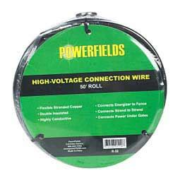 electric fence high voltage connection wire powerfields wire rope electric fencing