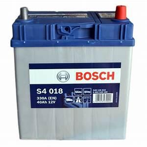 Bosch S4 12v 60ah : s4 018 bosch car battery 12v 40ah type 054 s4018 ~ Jslefanu.com Haus und Dekorationen