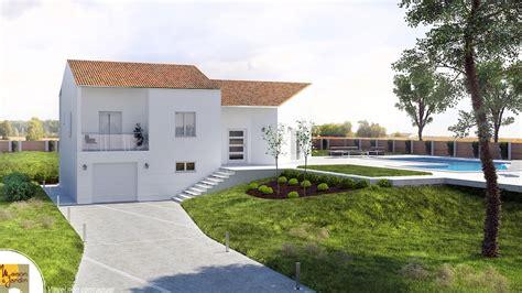 plan maison demi niveau 4 chambres ursy maison contemporaine à demi niveau