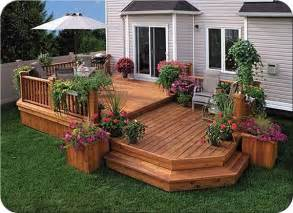 Simple Two Level Decks Ideas Photo by 25 Best Ideas About Two Level Deck On Tiered