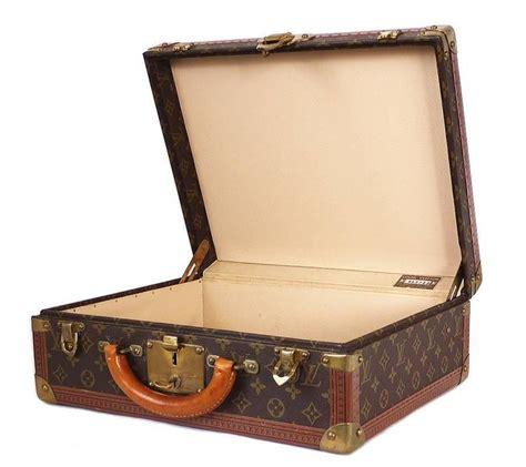 vintage louis vuitton monogram cotteville  hard sided suitcase  stdibs